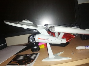 Now ready to boldly go on my desk